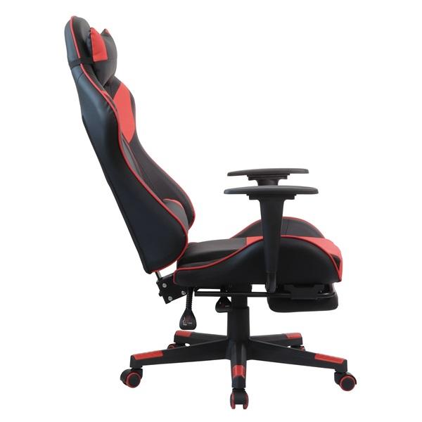 Iris GCG204BR_FT fekete / piros gamer szék - 5
