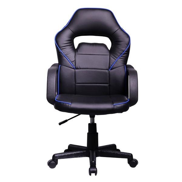 Iris GCH101BK fekete / kék gamer szék - 1