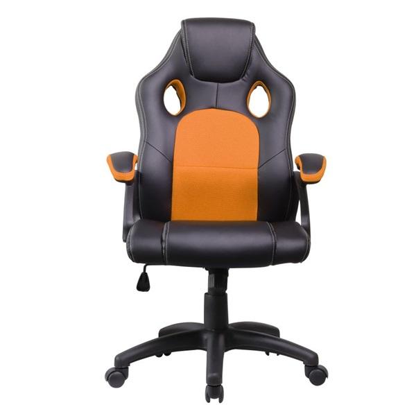 Iris GCH102BA fekete / narancssárga gamer szék - 1