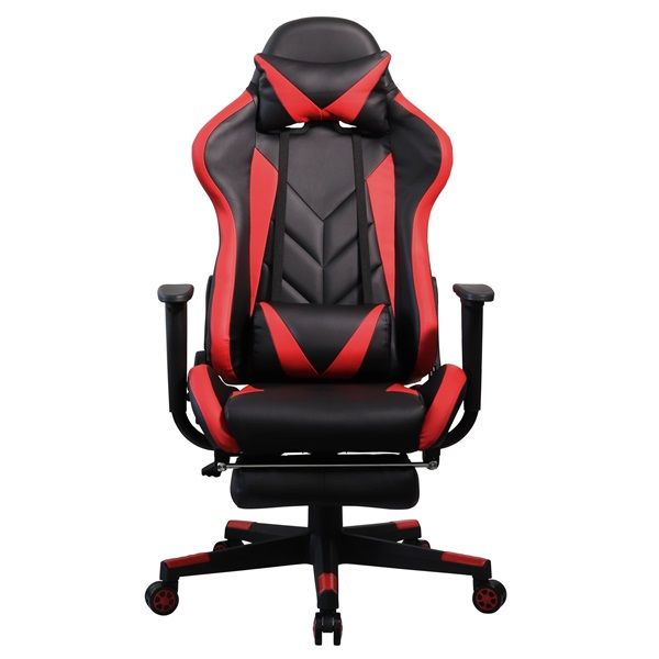 Iris GCH200BR fekete / piros gamer szék - 1