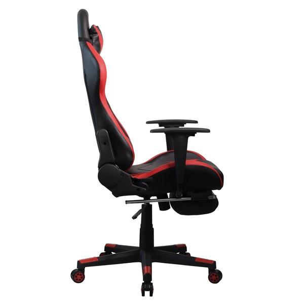 Iris GCH200BR fekete / piros gamer szék - 2