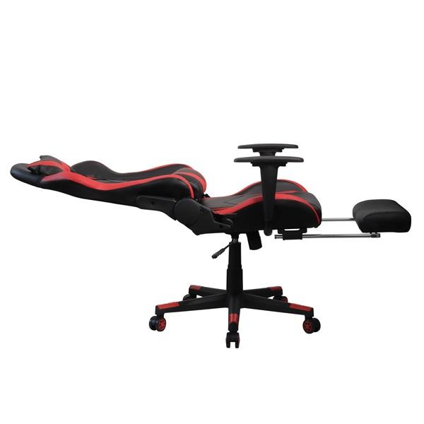 Iris GCH200BR fekete / piros gamer szék - 4
