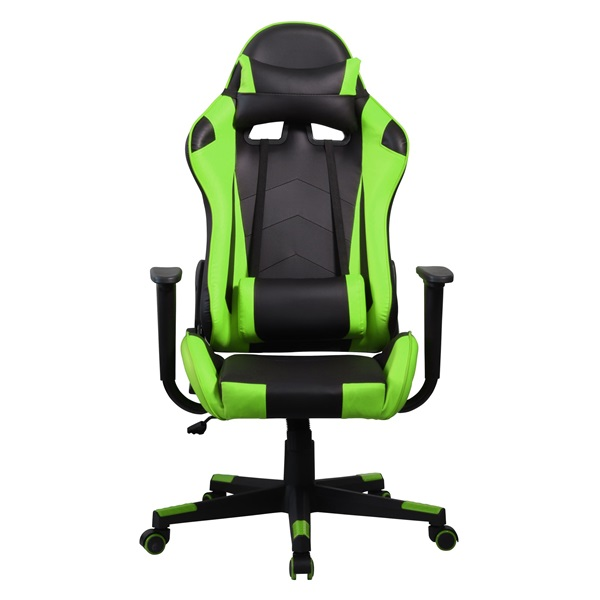 Iris GCH201BE fekete / zöld gamer szék - 1