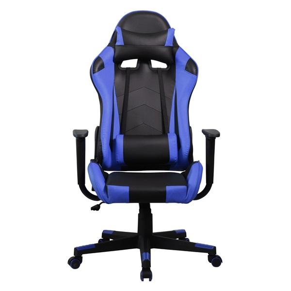 Iris GCH201BK fekete / kék gamer szék - 1