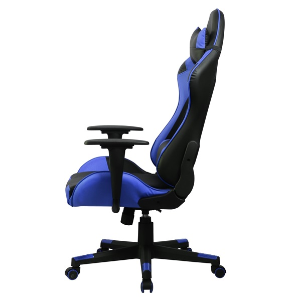 Iris GCH201BK fekete / kék gamer szék - 2