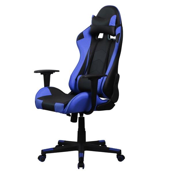 Iris GCH201BK fekete / kék gamer szék - 3