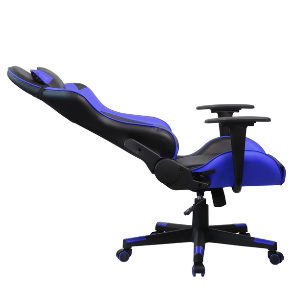 Iris GCH201BK fekete / kék gamer szék - 5