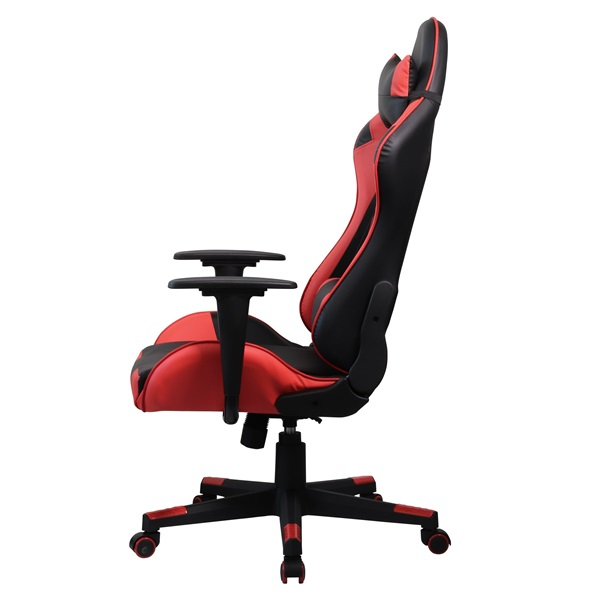 Iris GCH201BR fekete / piros gamer szék - 2