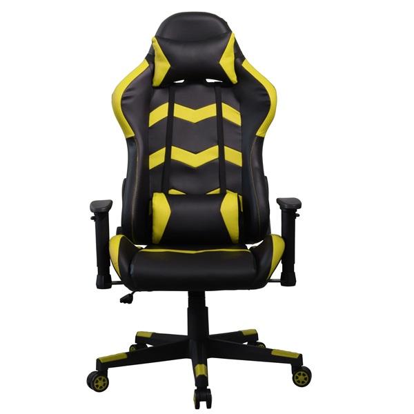 Iris GCH203BC fekete / citromsárga gamer szék - 1