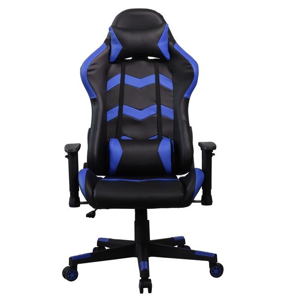 Iris GCH203BK fekete / kék gamer szék - 1