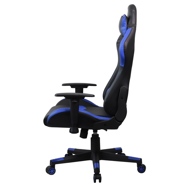 Iris GCH203BK fekete / kék gamer szék - 3