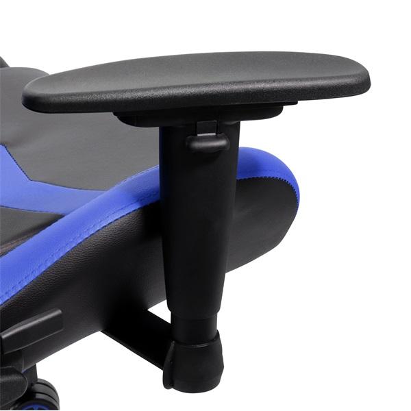 Iris GCH203BK fekete / kék gamer szék - 4