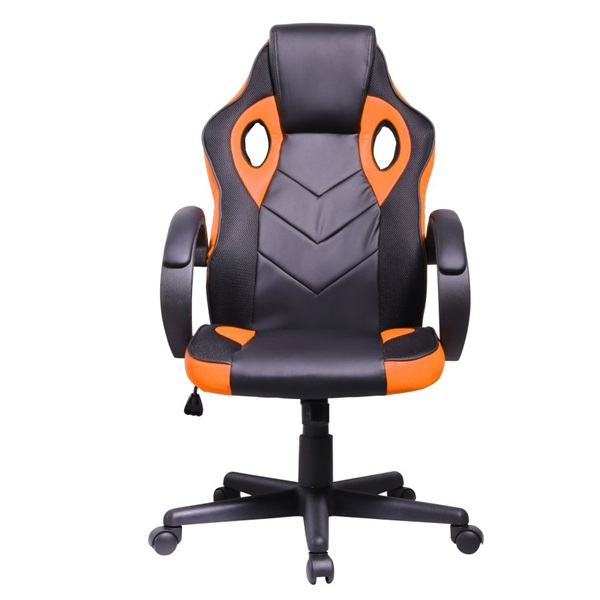 Iris GCH205BA fekete / narancssárga gamer szék - 1