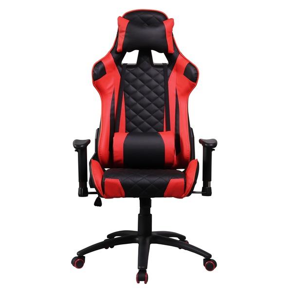 Iris GCH300BR fekete / piros gamer szék - 1