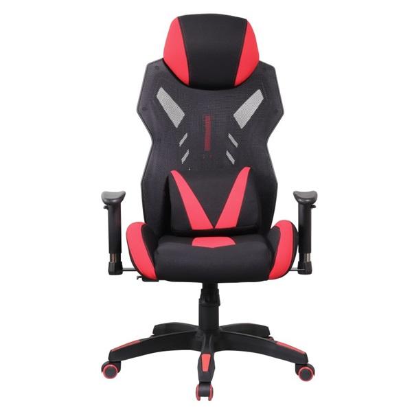 Iris GCH301BR fekete / piros gamer szék - 1