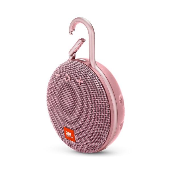 JBL CLIP 3 rózsaszín vízálló Bluetooth hangszóró - 1