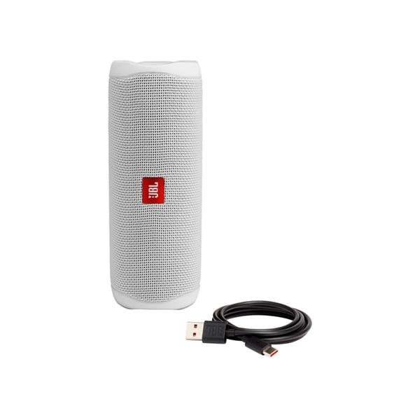 JBL FLIP 5 Bluetooth fehér hangszóró - 5