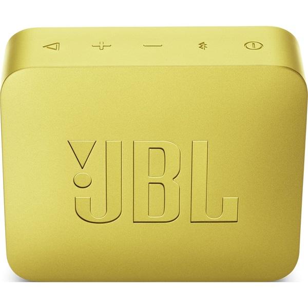 JBL GO 2 sárga vízálló Bluetooth hangszóró - 1