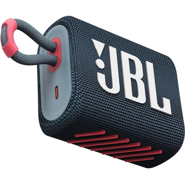 JBL GO3BLUP Bluetooth kék/rózsaszín hangszóró - 1