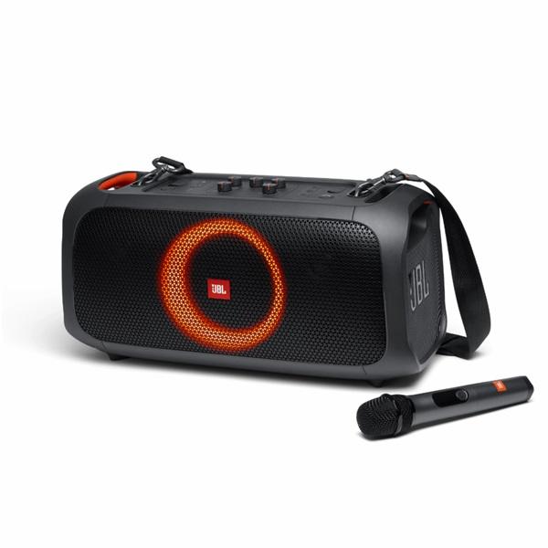 JBL PartyBox On-The-Go Bluetooth fekete party hangszóró - 1