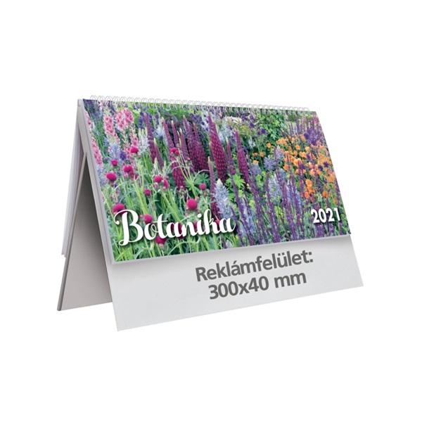 Kalendart 2021-es T063 botanika álló papír asztali naptár - 1