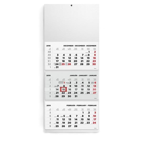 Kalendart 2021-es T074 3 tömb minta nélküli speditőrnaptár - 2