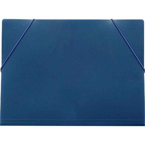 Karton P+P A4 kék gumis mappa - 1