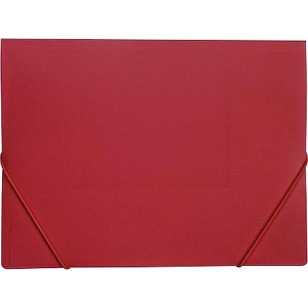 Karton P+P A4 piros gumis mappa - 1