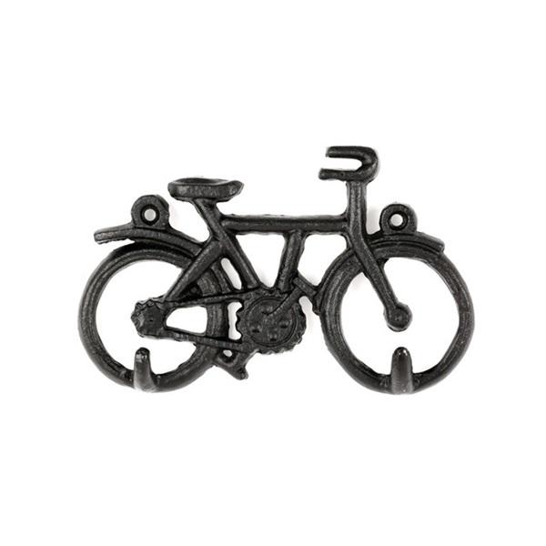 Kikkerland BB53 kerékpár falra szerelhető kulcstartó - 1