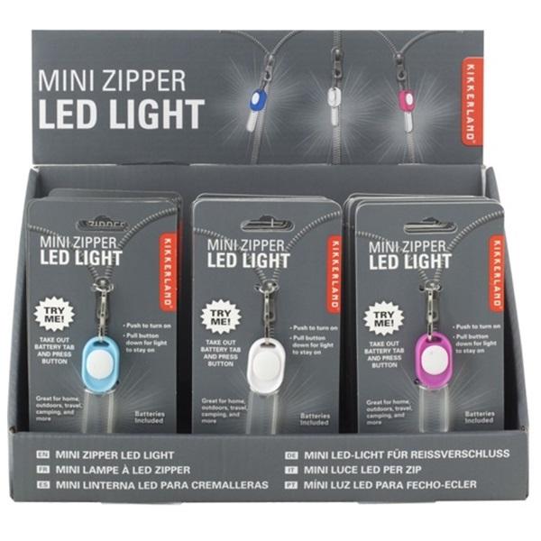 Kikkerland cipzáros mini ledes lámpa - 6