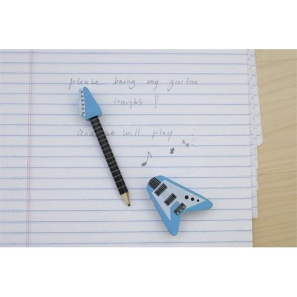 Kikkerland gitár alakú radíros ceruza - 7