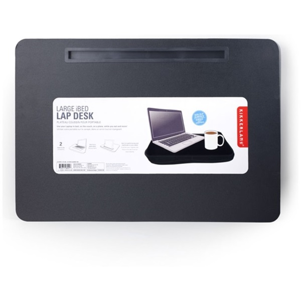 Kikkerland iBed fekete extra széles iPad tartó - 2