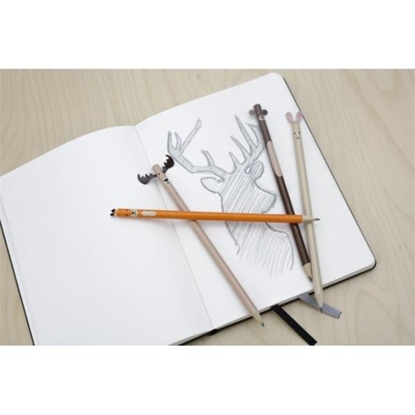Kikkerland S/4 erdei állatos ceruza - 5