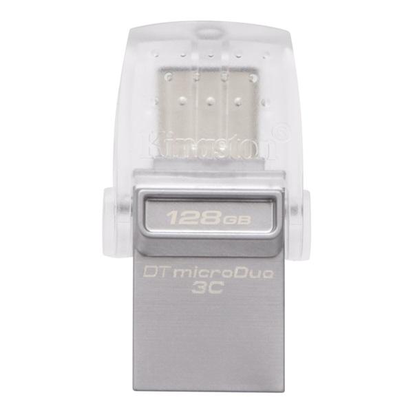 Kingston 128GB USB3.1 C/USB3.1 A Ezüst (DTDUO3C/128GB) Flash Drive - 1