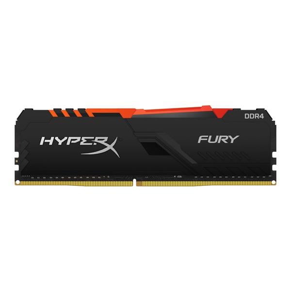 Kingston 16GB/3200MHz DDR-4 HyperX FURY RGB (HX432C16FB4A/16) memória - 1