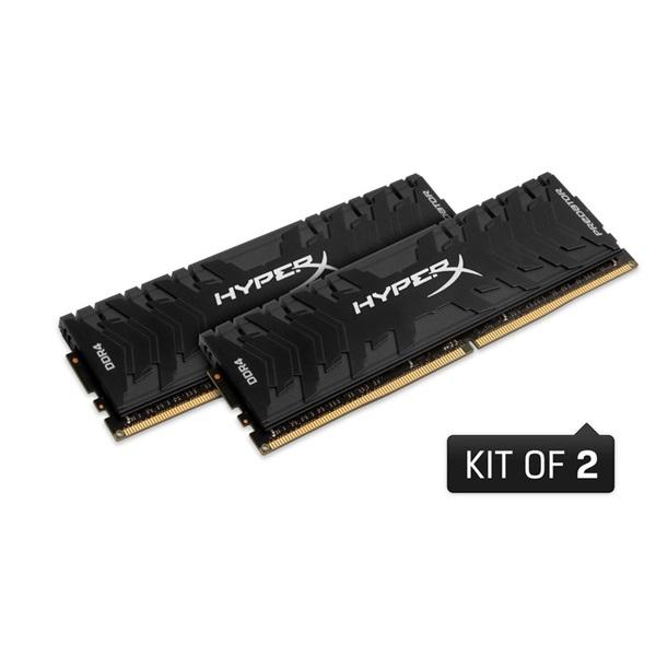 Kingston 16GB/3333MHz DDR-4 HyperX Predator XMP (Kit! 2db 8GB) (HX433C16PB3K2/16) memória - 1