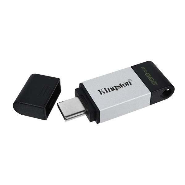 Kingston 256GB USB3.2 C DataTraveler 80 (DT80/256GB) Flash Drive - 2