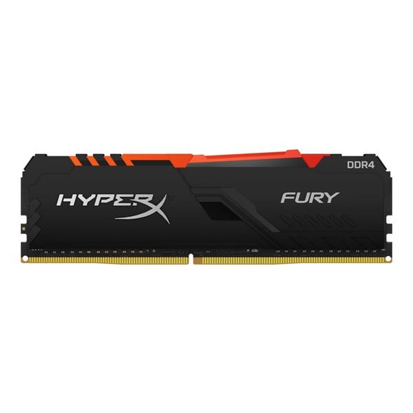 Kingston 32GB/3600MHz DDR-4 HyperX FURY RGB (HX436C18FB3A/32) memória - 1