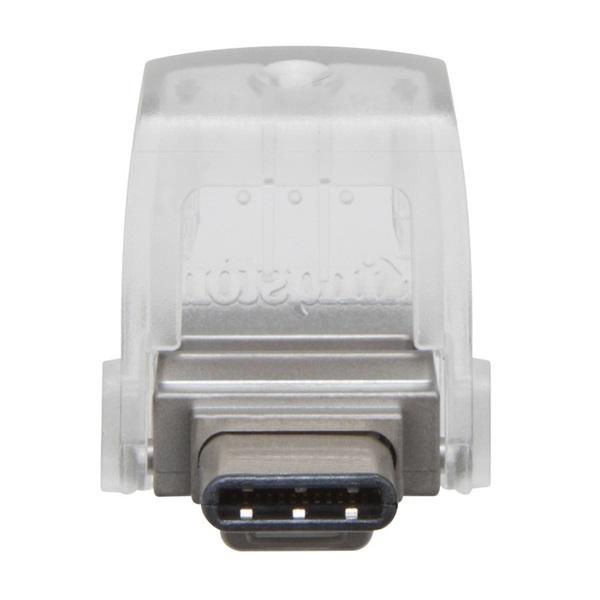 Kingston 32GB microUSB3.1 C/USB3.1 A Ezüst (DTDUO3C/32GB) Flash Drive - 2