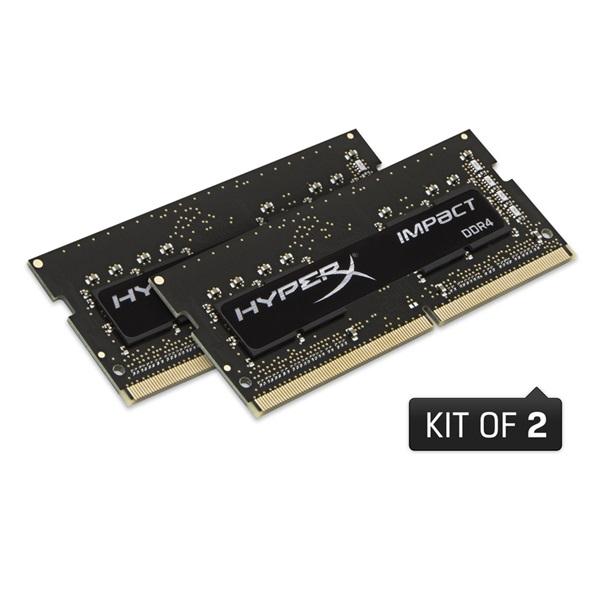 Kingston 64GB/2666MHz DDR-4 HyperX Impact (Kit 2db 32GB) (HX426S16IBK2/64) notebook memória - 1