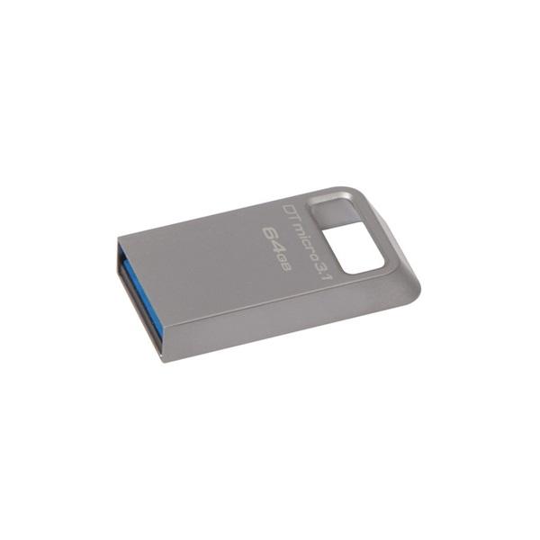 Kingston 64GB Micro USB3.1 A  Ezüst  (DTMC3/64GB) Flash Drive - 1