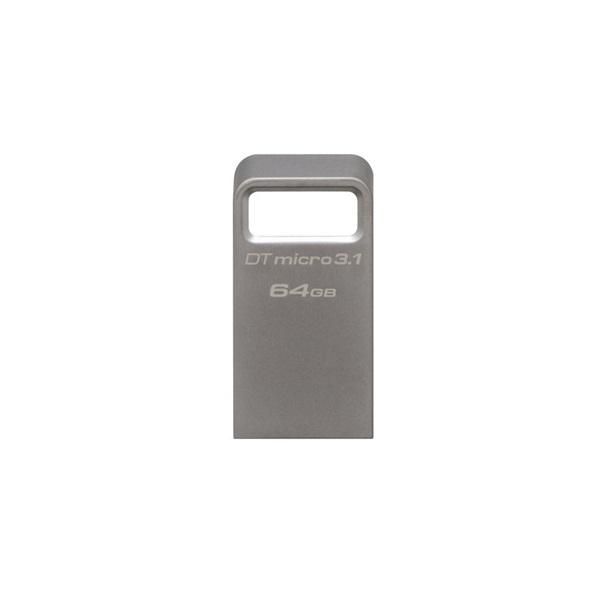 Kingston 64GB Micro USB3.1 A  Ezüst  (DTMC3/64GB) Flash Drive - 2