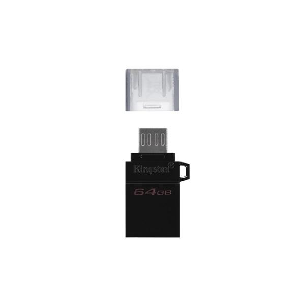 Kingston 64GB microUSB3.2 /USB3.2 A Fekete (DTDUO3G2/64GB) Flash Drive - 2