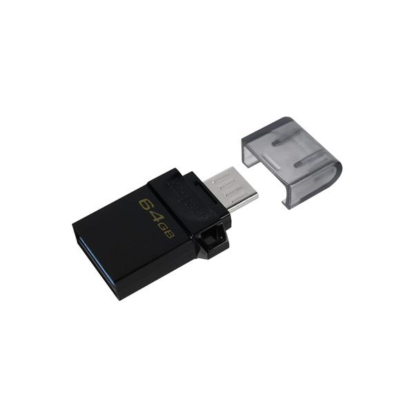 Kingston 64GB microUSB3.2 /USB3.2 A Fekete (DTDUO3G2/64GB) Flash Drive - 4
