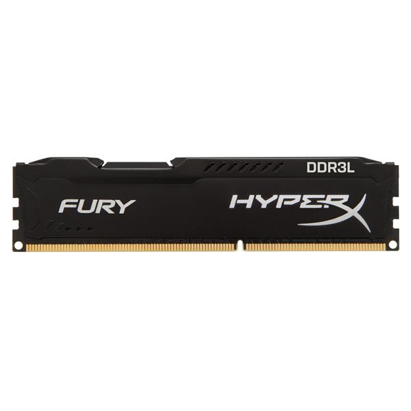 Kingston 8GB/1600MHz DDR-3 HyperX FURY fekete LoVo (HX316LC10FB/8) memória - 2