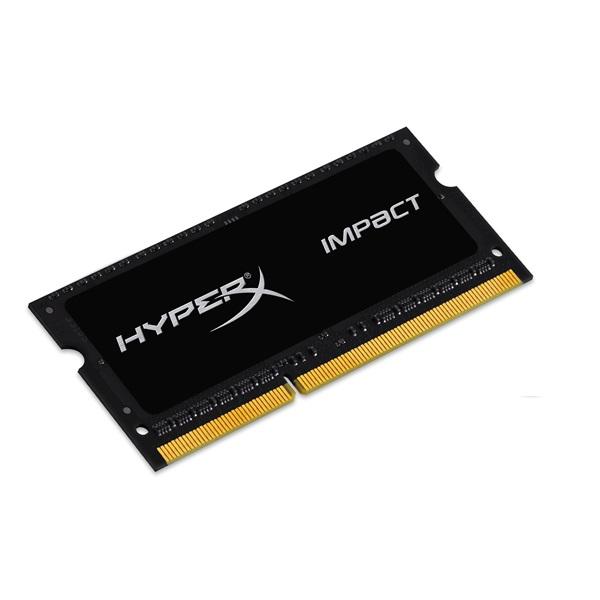 Kingston 8GB/1600MHz DDR-3 HyperX Impact Black 1,35V (HX316LS9IB/8) notebook memória - 1