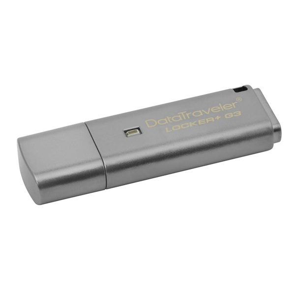 Kingston 8GB USB3.0 Ezüst (DTLPG3/8GB) Automatic Data Security Flash Drive - 1
