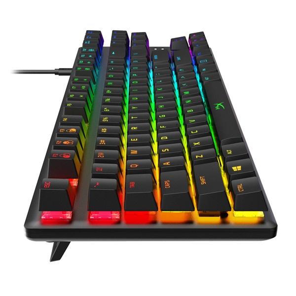 Kingston HyperX Alloy Origins Core (AQUA switch) Tenkeyless US világító mechanikus gamer billentyűzet - 4