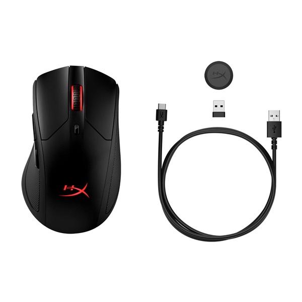 Kingston HyperX Pulsefire Dart vezeték nélküli fekete gamer egér - 7