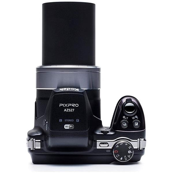 Kodak Pixpro AZ527 fekete digitális fényképezőgép - 4